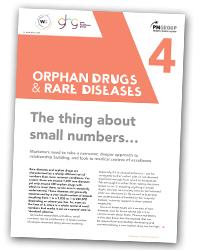 Strategic communications for orphan drugs for orphan drugs