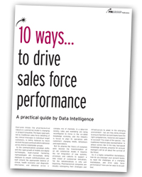 10 Ways to drive sales force effectiveness