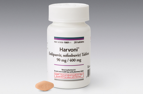 Harvoni packshot