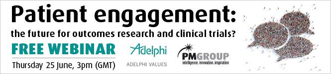 Adelphi Patient engagement webinar header