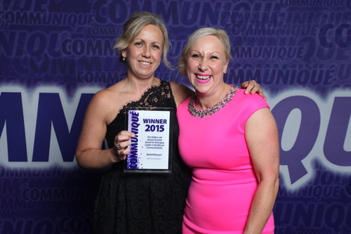 Rachel Rowson crowned emerging leader at Communiqué 2015