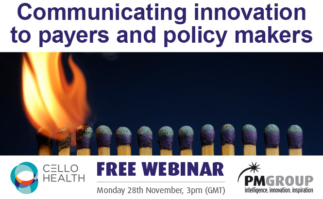 Communicating innovation to payers and policy makers