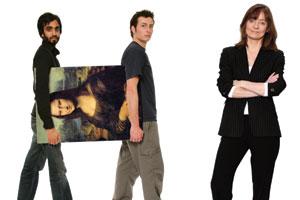Lyn Wallace, Sal Tavkar and Rob McLean