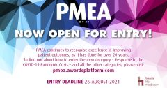 PMEA 2021 has officially launched – with a new online entry system