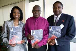 Members of the Sickle Cell Society launching 'Adult Standards' with Archbishop of York, Dr John Sentamu