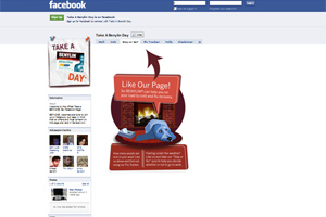 Benylin's Facebook app