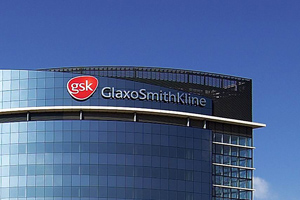 GSK - logo on building