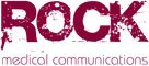 Logo for ROCK medical communications