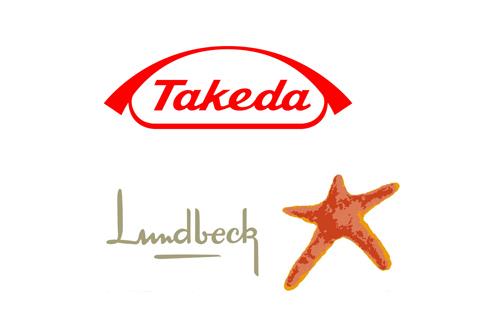 Takeda Lundbeck logos