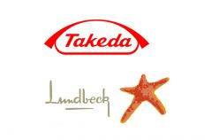 Takeda Lundbeck logos