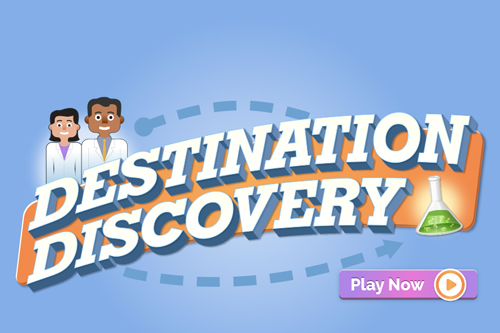Lilly Destination Discovery online pharma research game