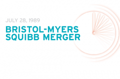 This month in 1989: the creation of Bristol-Myers Squibb