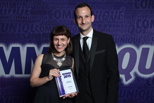 AstraZeneca's Amie Baker wins Communiquétor 2015 award