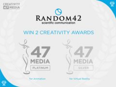 Random42 wins platinum award at the Creativity International Awards