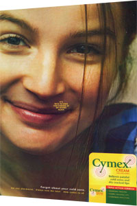 Cymex - Treatment of cold sores