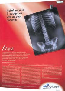Marol advert