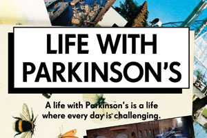 The poster for the 'Life With Parkinson's' Campaign