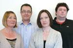 Euro RSCG team - Nicky, Andrew, Wendy, Peter