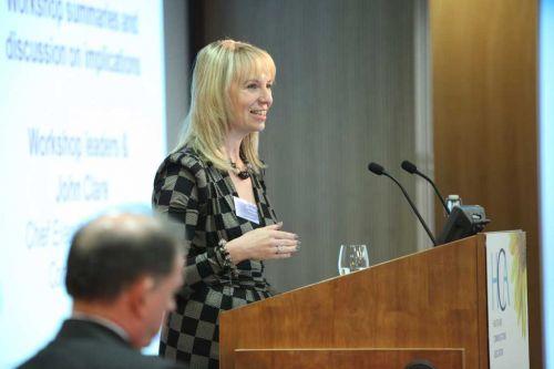Sarah Matthew at the HCA Conference 2010