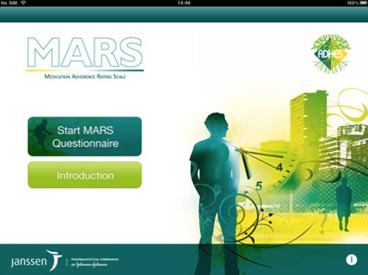 Janssen MARS iPad app