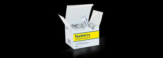 Auxilium's Testim testosterone gel
