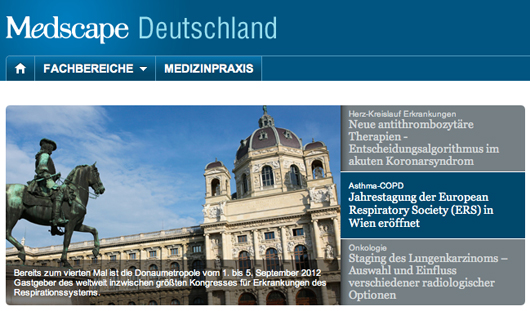 WebMD's Medscape Germany