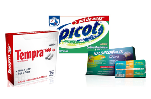 BMS Reckitt OTC products Latin America