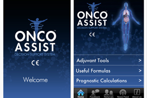 OncoAssist iPhone oncology app