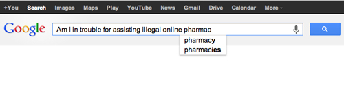 Google illegal online pharmacies