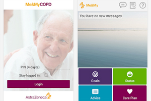 AstraZeneca Me&MyCOPD Android mobile app