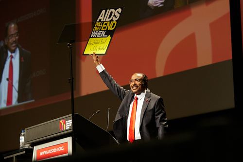 20th International Aids Conference Melbourne Australia Michel Sidibé UNAIDS