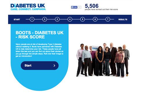 diabetes uk boots risk assessment