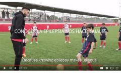 UCB joins with Atlético Madrid for epilepsy awareness campaign