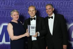 Hanover Comms collects Excellence in Public Health Comms award