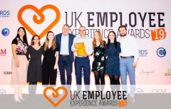 Ashfield wins gold at the UK Employee Experience Awards