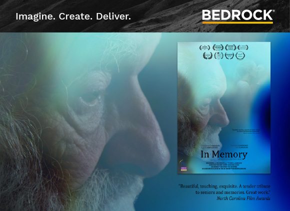 "In Memory ""Beautiful, touching, exquisite: a tender tribute to seniors and memories. Great work."" North Carolina Film Awards"