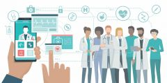 Transformation in healthcare professionals' digital behaviours