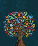 hands on tree
