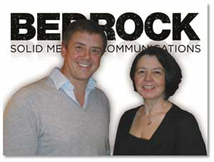 David Youds and Denise Bumford, Bedrock Healthcare Communications