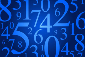 A random selection of numbers