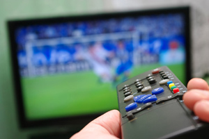 Remote control - sport on television