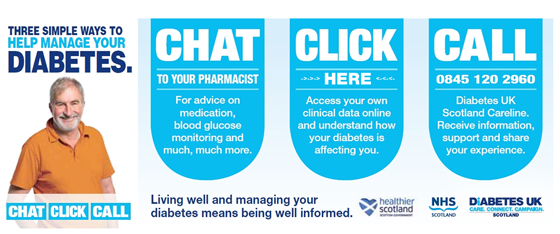 NHS Scotland Diabetes UK My Diabetes My Way