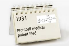 Prontosil and the dawn of modern medicines