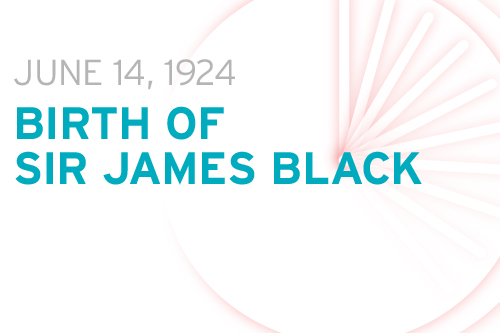 Birth of Sir James Black