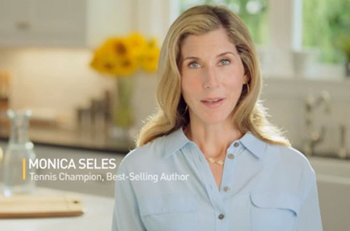 Monica Seles, Shire binge eating disorder campaign