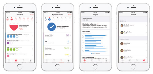 Apple iPhone app CareKit mHealth software