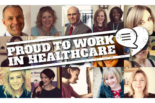 Proud to Work in Healthcare