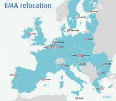 Most of the EU would like to host the EMA