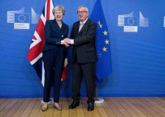 EU27 backs Brexit terms – now the hard part starts for May