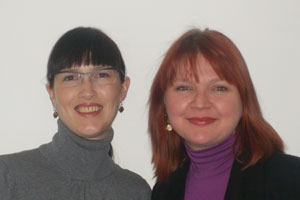 Zoe Healey and Wendy Gerber